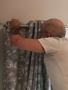 Our fitter Darren is a perfectionist.