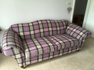 Tetrad sofa cover in wool